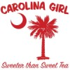 Buy Red Carolina Girl Sweeter than Sweet Tea T-Shirts, Apparel, and Gifts